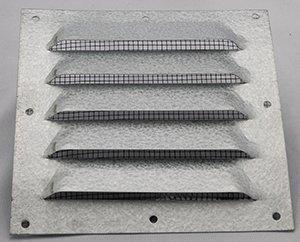 Ventilgaller plåt med nät 150*150